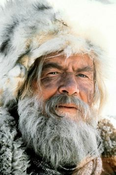 Bear Claw (Will Geer) from the movie Jeremiah Johnson 1972. He also played Grandpa on the Waltons and bear hunted one season, many years ago in Virginia, with some people I knew.