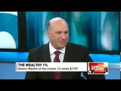 """Sickening!!!  Kevin O'Leary says 3.5 BILLION People living in poverty is """"Fantastic News!"""""""