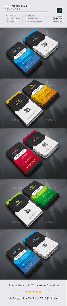 Business Card Template PSD