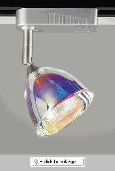 Low Voltage Track Lighting    Finish - Al(Aluminum), Glass - Dichroic      Hanging Systems  TR 3-Wire Single Circuit Track System: Halo compatible, Most commonly used.     Lamp: 20-50 Watt 12V - MR16 (Lensed)  Regular price: $90.00  Sale price: $65.00