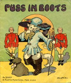 Is this puss sexy or what? Stalking the felis cattus in vintage kids books