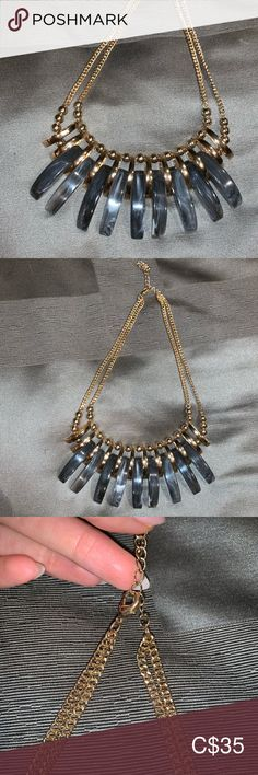 I just added this listing on Poshmark: Gold/stone necklace. Stone Necklace, Gold Necklace, Jewelry Necklaces, Women Jewelry, Amazing, Shopping, Things To Sell, Style, Fashion