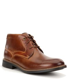 Shop for Rockport Men's Tailoring Guide Chukka Boots at Dillard's. Visit Dillard's to find clothing, accessories, shoes, cosmetics & more. The Style of Your Life. Mens Casual Dress Shoes, Dillards, Shoe Boots, Chelsea, Lace Up, Mens Fashion, My Style, Leather, Clothing Accessories
