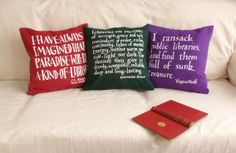 New Library Cushions