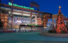 Citizens Bank Park gets festive for the holidays (Photo by Andrew Weiss Photography)
