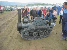 Steam powered crawler - odd