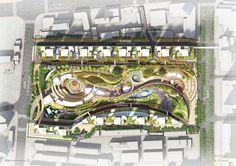 Huainan City Park - The Jerde Partnership on Behance