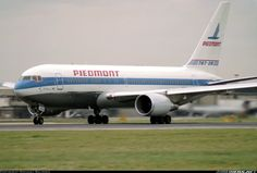Piedmont Airlines N614P Boeing 767-201/ER aircraft picture
