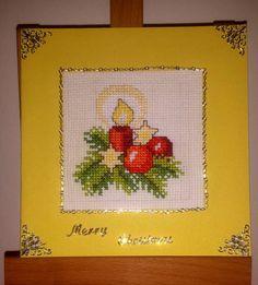 Vianočné křížkové karta