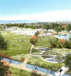 Imagen 1 de 15 de la galería de DARP, mención honrosa en concurso de ideas del Parque Juan Amarillo en Bogotá. Cortesía de DARP
