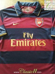 Arsenal Third Premier League Football Shirt Fabregas (L) Arsenal Football Shirt, Arsenal Jersey, Football Shirts, Auxerre, League Table, Transfer Window, Middlesbrough, Shirts, Bacary Sagna