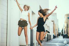 #Top #Short #Combi #Friends #Women #CuteOutfit