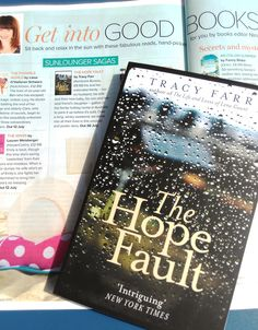 The Hope Fault in Prima Magazine (August described as 'A poetic story'. Prima Magazine, Italian Summer, Sit Back And Relax, Fairy Godmother, Sun Lounger, The Secret, Chaise Longue, Hammock Swing