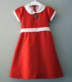 Annie costume with locket....Arie HAS to be this for Halloween!