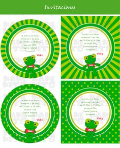 sapo pepe - Buscar con Google Holidays And Events, Printables, Birthday Ideas, Google, Toad, Invitations, Cake, Parties Kids, Centre
