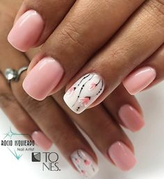 Bling Nails, Fun Nails, Pretty Nails, Gel Acrylic Nails, Gel Nail Art, Soft Nails, Short Nails Art, Girls Nails, Stylish Nails
