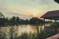 Lever de soleil sur le Mékong - Les 4000 îles, Laos grandeur nature - blog voyage et photographie