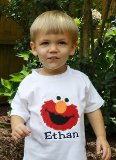 Hey, I found this really awesome Etsy listing at https://www.etsy.com/listing/195970250/personalized-elmo-shirt-or-bodysuit
