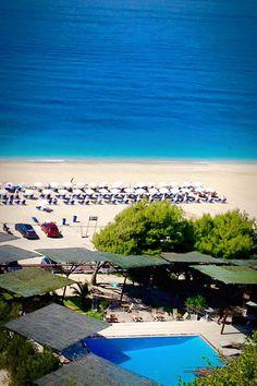 """Copla"" Beach Bar in Kathisma, Lefkada"