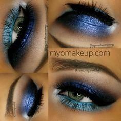 Metallic eyeshadow,  Lashed used are @House of Lashes Noir Fairy - @ theamazingworldofj