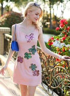 Morpheus Boutique  - Pink Floral Pattern Sleeveless Pencil Designer Dress, CA$102.55 (http://www.morpheusboutique.com/new-arrivals/pink-floral-pattern-sleeveless-pencil-designer-dress/)