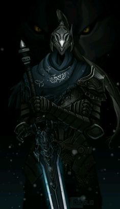 Knight Artorias https://www.artstation.com/p/3xGkE Jon Comoglio Concept Artist -- Share via Artstation Android App, Artstation © 2017