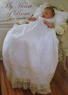 Heirloom Smocking Embroidery Patterns: Christening, Madeira Borders, Dresses | eBay!