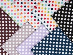 Riley Blake Fat Quarter Bundle (Cotton Dots Small)