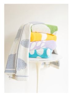 Wash with Water baby blankets, I want them all.