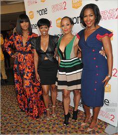 Tasha Smith, Malinda Williams, Essence Atkins and Terri J. Vaughn