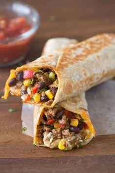Crispy Southwest Wraps | Tastes Better From Scratch