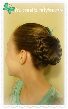 Braided butterfly hair tutorial