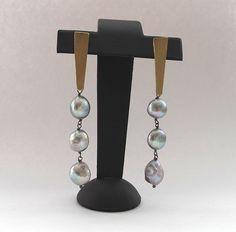 grey pearls by matutagioielli on @Sbaam http://sba.am/unf2uf7lb5k