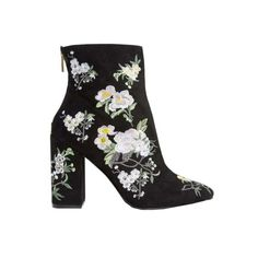 Miss Selfridge Floral Embroidered Boot
