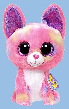 Duchess, Ty Beanie Boo Justice Stores exclusive chihuahua dog, reference information and photograph. All Beanie Boos, Beanie Boo Dogs, Beanie Boo Party, Rare Beanie Babies, Ty Stuffed Animals, Plush Animals, Ty Teddies, Ty Beanie Boos Collection, Ty Peluche