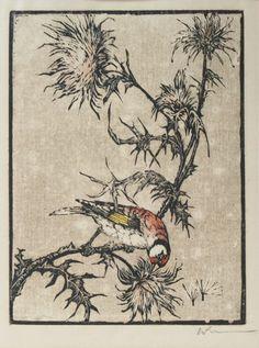 woodblock print 1922 - Walther Klemm (1883-1957)