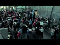 Flash Mob - Zelman Symphony Orchestra at Federation Square's 10th birthday celebration, Melbourne - YouTube
