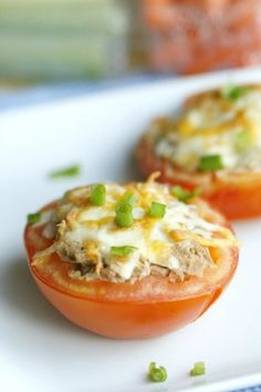 Low Carb Tuna Melt by The Fit Housewife