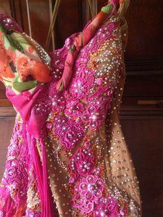 Stunning Pink Designs to Shine Rhythm Latin Dress Sz 2 8 | eBay
