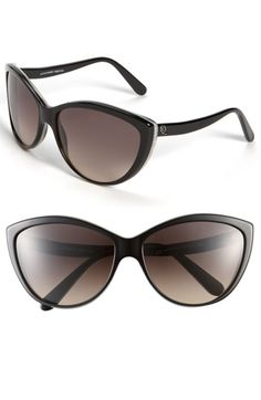 Alexander McQueen Two Tone Cat's Eye Sunglasses   Nordstrom