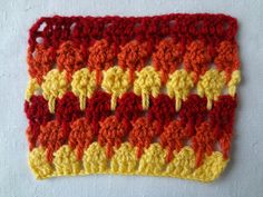 larksfoot stitch (or icicle stitch) demystified: free pattern