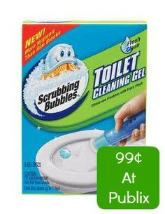 Publix: ONLY $.99 each for Scrubbing Bubbles Toilet Cleaning Gel with Coupon Stack and Checkout 51 Offer! - http://www.couponaholic.net/2014/04/publix-only-99-each-for-scrubbing-bubbles-toilet-cleaning-gel-with-coupon-stack-and-checkout-51-offer/