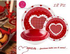 OFFERTA SPECIALE! VILLA D ESTE Servizio di piatti LOVELY 18 PZ  NATALE 2015