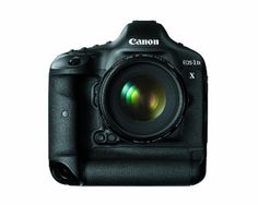 Canon EOS-1D X 18.1MP Full Frame CMOS Digital SLR Camera -      FEATURED  Canon EOS-1D X 18.1MP Full Frame CMOS Digital SLR Camera   Full-frame 18.1 Megapixel CMOS sensor. All-new Dual DIGIC 5+ Image Processors deliver high quality image capture at up to 12 fps (14 fps in Super High Speed Mode). Powerful ISO range of 100  51200 (up to 204800 in...