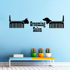 Petshop Vet Grooming Salon Cat Dog Scissors Comb by CozyDecal, $15.99