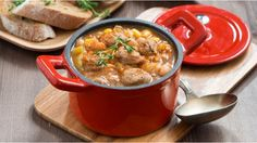 Try this quick and cheap sausage casserole recipe (using all tinned or frozen veg) as a budget meal for all the family...