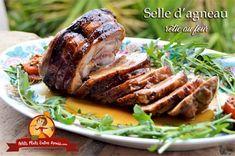 Selle d'agneau rôtie au four | Petits Plats Entre Amis Meat Recipes, Pork, Turkey, Dishes, Baking, Cooking Recipes, Meat, One Pot Meals, Kale Stir Fry