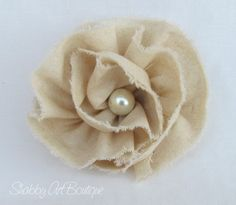 Shabby Chic Rose Tutorial from the Shabby Art Boutique