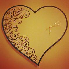 Homemade clock inspiration on Pinterest   Clock, Wall Clocks and ...