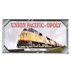 UNION PACIFIC-OPLY GAME